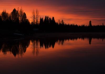 Gavin Lake By Janet Clark