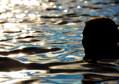 Alia in Puntchesakut Lake By Chris Lahoda
