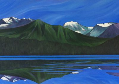 One August Afternoon, Sapeye Lake in the Cariboo Chilcotin $650.00 By Megan Long