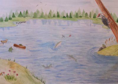 Tatiana Hill 'Life at the Waters Edge'